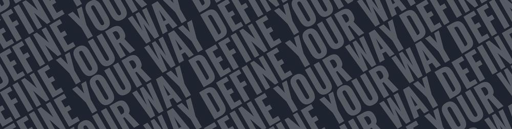 Banner Define Your Way